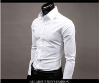 best quality mens dress shirts - 17 Colors Upper Garments Long Sleeve Shirt Mens Best Dress Shirts Men s Business Casual Shirts High Quality Mens Clothes