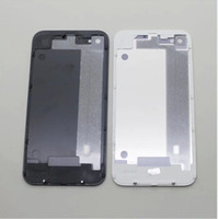 Wholesale Glass Back Housing Rear Battery Door Cover For iPhone Black and White For iPhone G GSM
