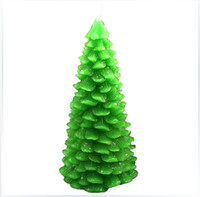 Cake Moulds candle mold silicone - 3D christmas tree candle silicone mold candle mold decorative tree silicone mold for soap candle