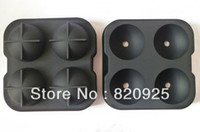 Wholesale New Prepare Ice Ball Sphere Molds Cube Tray Bricks Tray Maker Whiskey Cooktail