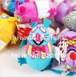 Wholesale fat cat toys Lovely Mouse for Cat Dogs Funny Fun playing contain catnip toys Pet supplies Mixed color