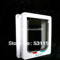 big dog door - Holiday Sale Big Discount Pet Supplies Way Pet Cat Dog Flap Door Lock Safe Lockable Small