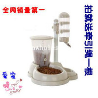 Cheap Pet automatic feeder cat dog water dispenser pet supplies basin bowl automatic water