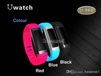 Cheap 1pcs U Watch U9 U8 upgrade Bluetooth Smart Watch SmartWrist Waterproof Watch Phone Mate For iPhone Android Samsung Sony HTC Anti-lost 2014