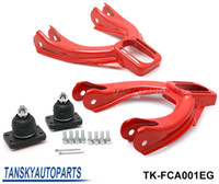 Wholesale Tansky car styling for JDM Adjustable Front Camber Kit for Honda CIVIC EG Color Red TK FCA001EG