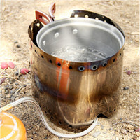 Wholesale 2014 New Style Pure Titanium Super Light Sliver Revoluble Outdoor Camping Stove Wind Shield Screen for Camping Picnic
