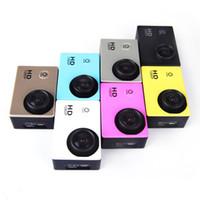 HD 1080 P F23 buceo 30M impermeable extrema deporte cámara casco videocámara Color coche vehículo Video Recorder coche DVR acción Mini DV