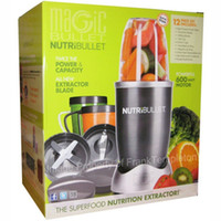 Wholesale Hot AU EU US UK Pugs Magic NutriBullet Nutri Bullet Kitchen Appliance W Blender Mixer Extractor Blender Juicer Nutri Bullet free ship