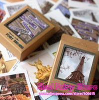 Wholesale LOMO STYLE Europe Scenery Greeting Cards Collection Printing cards Gift cards set sets
