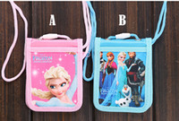 Wholesale Cartoon School ID Card Holder Frozen Anna amp Elsa Bus Card Cover For Students