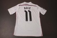 Wholesale New Arrival Madrid Bale Home White Jerseys Top Thai Quality Soccer Uniform Kits Football Club Jerseys Custom Made Soccer Wears
