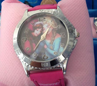 cheap watches - 2014 new frozen children cheap watch kids fashion boxed watch gift cartoon Cute Lovely Girl woman lady Kids birthday gift J072306