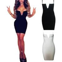 Wholesale S5Q Clubwear Club Bandage Dress Womens Lady Sexy Slim Fit Cocktail Evening pencil Dress AAADQB