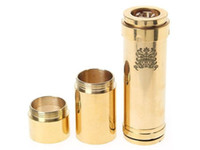 Cheap Chi You Mechanical Mod Locking Bottom Button Adjustable Electronic Cigarette Battery Mod fit 18650 battery Free Shipping