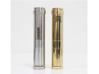 Cheap 1:1 Clone Chi You Mechanical Mod Locking Bottom Button Adjustable Electronic Cigarette Battery Mod fit 18650 battery DHL Free