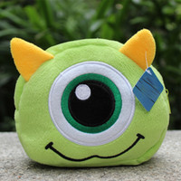 sport companies - 201407y Wallets Coin Purses The monster company plush cosmetic bag Large seed change purse