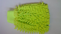 Wholesale New arrival Microfiber Chenille Dusting Mitt Double Face Car Clean Wash Glove drop shipping