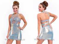 Cheap Reference Images Sleeveless Dress Best Taffeta Jewel Crystals Dresses