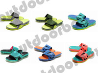 Wholesale New Arrival LB Slide Shoes Brand Mens Shoes Mens Slippers Colors Flat Sandals Casual Flat Slide Size Hot Sell