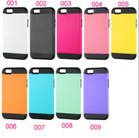 Wholesale fashion hybrid slim armor shock proof case cover skin shell for iPhone inch combo luxury case cover