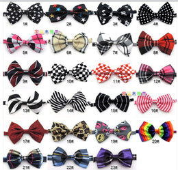 Wholesale 2015 New Arrival Fashion Bowtie Boys Adjustable Self Tie Bow Ties For Kids Boy Toddler Ties Slim Dye Shirt High Quality Banquet Tie