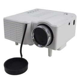Wholesale Cheapest Price Projector W Mini LED Digital Video Player Projector w SD USB AV VGA HDMI Support White