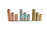 Wholesale stainless steel brass copper cartel mod mechanical mod fit for battery tubes Cartel mods vs panzer penny vanilla DHL