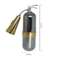 Precio de Fire extinguisher-Creativa Lámpara Extintor de Fuego en Forma de lámpara de Pared, Lámpara de Pared-Colgante de Carga Luz de la Lámpara,envío rápido
