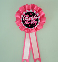 Wholesale 20pcs Hen Night Bachelorette Party Accessory Bride To Be Rosette Badge