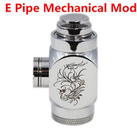 Non-Adjustable   Hammer Pipe Mod E Pipe Mod Mechanical Hammer Battery Body for 510 Thread Atomizer E Cigarette (10h009)