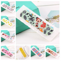Cartoon bandages plasters - 400pcs Ultrathin Cartoon Style Wound Plaster Mixstyle Cute Band Aid For First Aid CKT
