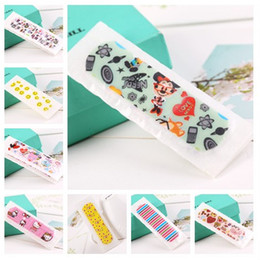 Wholesale 500pcs Ultrathin Cartoon Style Wound Plaster Mixstyle Cute Band Aid For First Aid CKT