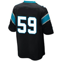 Wholesale Luke Kuechly Game Jersey Black Football Elite Jerseys Men Women Youth Kids Stitched Jersey Size Drop Shipping