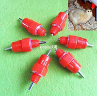 Wholesale 10pcs Water Nipples Drinker Poultry Chicken Duck Coop Feeder Screw In Degree