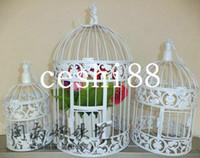 Wholesale Fashion iron birdcage wedding decoration bird cage bird cage bird cage props