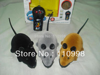 Wholesale Cute Electronic Mouse Toy with Remote Control RC Mouse RC Pet Toy for cat
