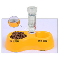 Cheap Dogs Pet Suppliespets Puppy Dogs Cats Automatic Water Drinking Feeding Basin Food Bowls Free Shipping&Drop Shipping