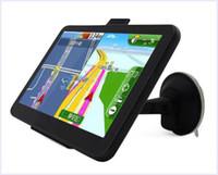 Wholesale 7 Inch Car GPS Navigator Cheapest Windows CE Free Maps FM MP3 MP4 Player MQ50