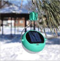 Wholesale N300 Mini Solar Powered LED Lights Lamp Lantern Camping High Bright Outdoor Waterproof Reading Tent Light Sensation Emergency Bulb ABS Panel