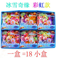 Wholesale Frozen Rainbow Loom Bands Fun DIY Loom Rubber Kit Colorful Bracelets Charm Bracelet For Children Toy Gift
