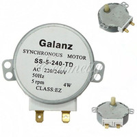 Wholesale Synchronous Motor SS TD AC v V W RPM Turntable for Microwave Oven for Glanze
