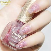 Cheap Lies cherry powder 12ml sweet color green elf snowflake glitter sequins nail polish girls