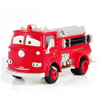 Cheap T0714 Funny Pixar Cars diecast figure toy Red Fire Truck Brand New wholesale hot sale