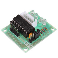 Cheap Free Shipping New Stepper Motor Driver Board UL2003 Four Phase Step Module Test Board for Arduino Wholesale