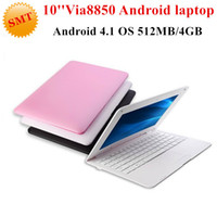 cheap mini laptops - Cheap inch Mini Laptop Android Notebook Computer webacm M G Via Dual Core Android netbook laptops