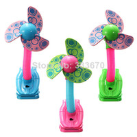 Wholesale 3pcs Handheld Mini Fan Super Mute Battery Operated for Cooling