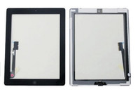 Wholesale 50pc OEM Touch Screen Glass Panel With Digitizer Replacement Black And White For iPad ipad mini Free DHL