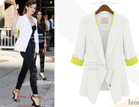 Cheap 2014 New Summer Fashion Autumn Coat For Women European Style Slim Tailored Suit Thin Section Tailored Suit