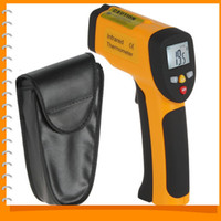 Wholesale Non contact LCD Laser Gun Infrared ir Digital Electronic Industrial Thermometer Temperature Meter Gauge C to C