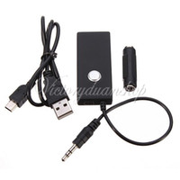Wholesale mm USB Bluetooth A2DP Wireless Stereo Audio Adapter Dongle Music Receiver For iPhone For iPod touch etc